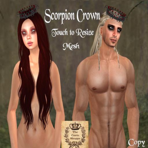 Scorpion Crown Ad
